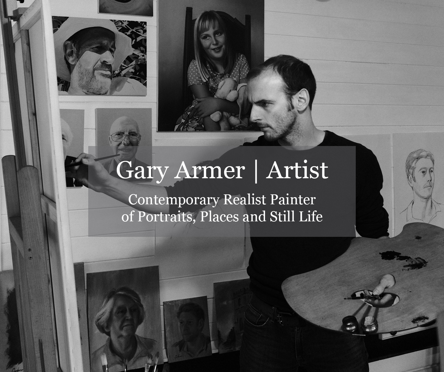 Gary Armer Artist - Painter of Portraits, Landscapes and Still Life