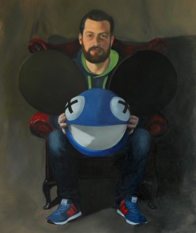 I Remember Painting with Deadmau5 Head