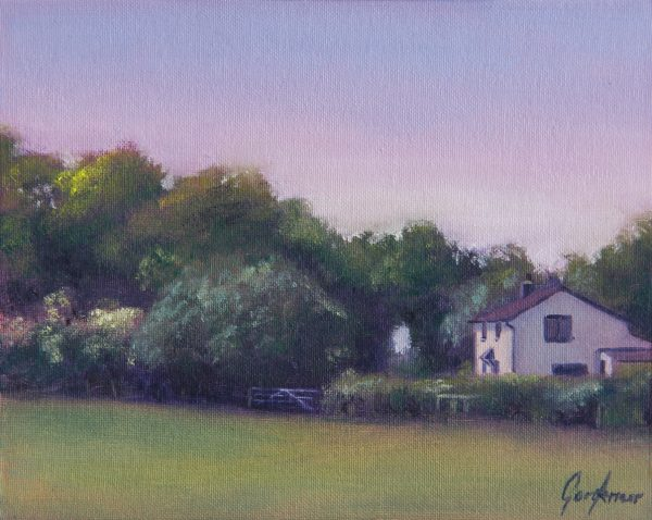Cottage on Turkey Street Landscape Painting