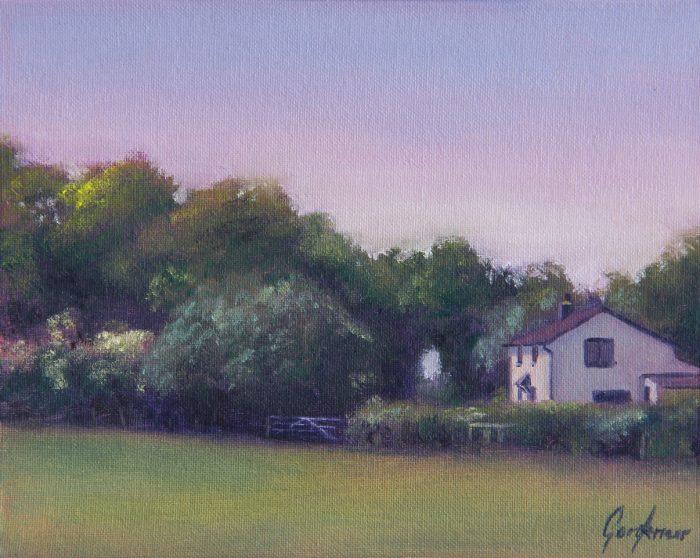 Cottage on Turkey Street Landscape Painting