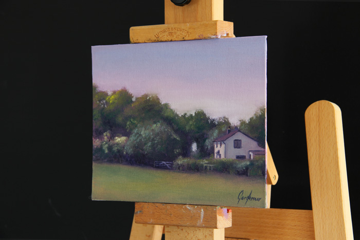 Cottage on Turkey Street Original Painting