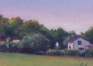Cottage on Turkey Street Painting