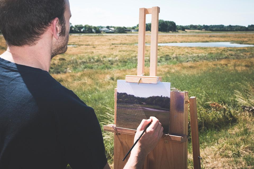 Gary Armer Artist Plein Air Painting