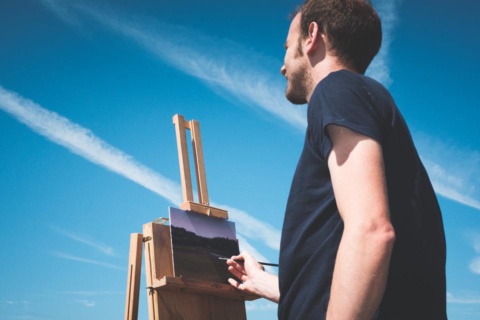 Gary Armer Plein Air Painting