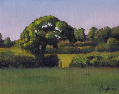 Oil Painting of Tree by Gary Armer