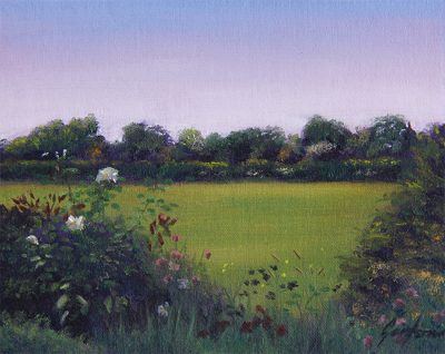 Oil Painting of Wildflowers by Gary Armer