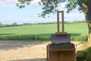 Plein Air Landscape Painting Towards the Pennines