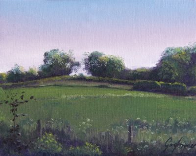 Rural Landscape Painting by Gary Armer
