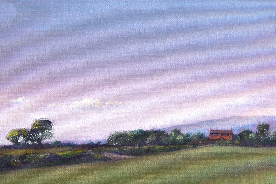 Towards the Pennines from Union Painting