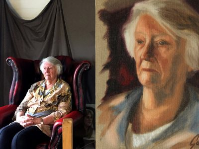 Alla Prima Portrait Painting from Life