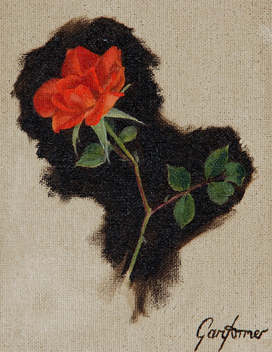 Climbing Rose Painting Thumbnail