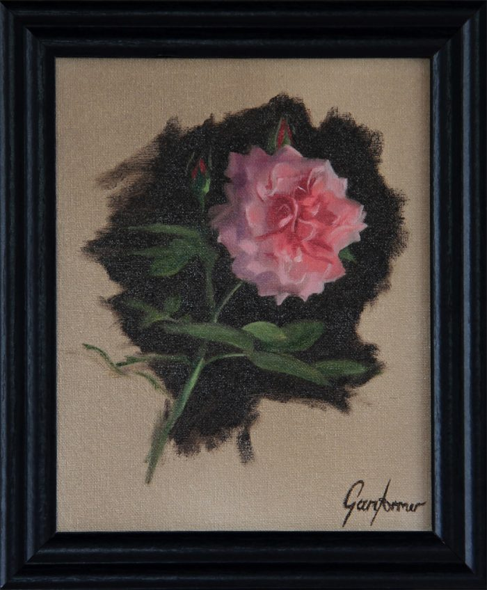 Floribunda Rose Painting