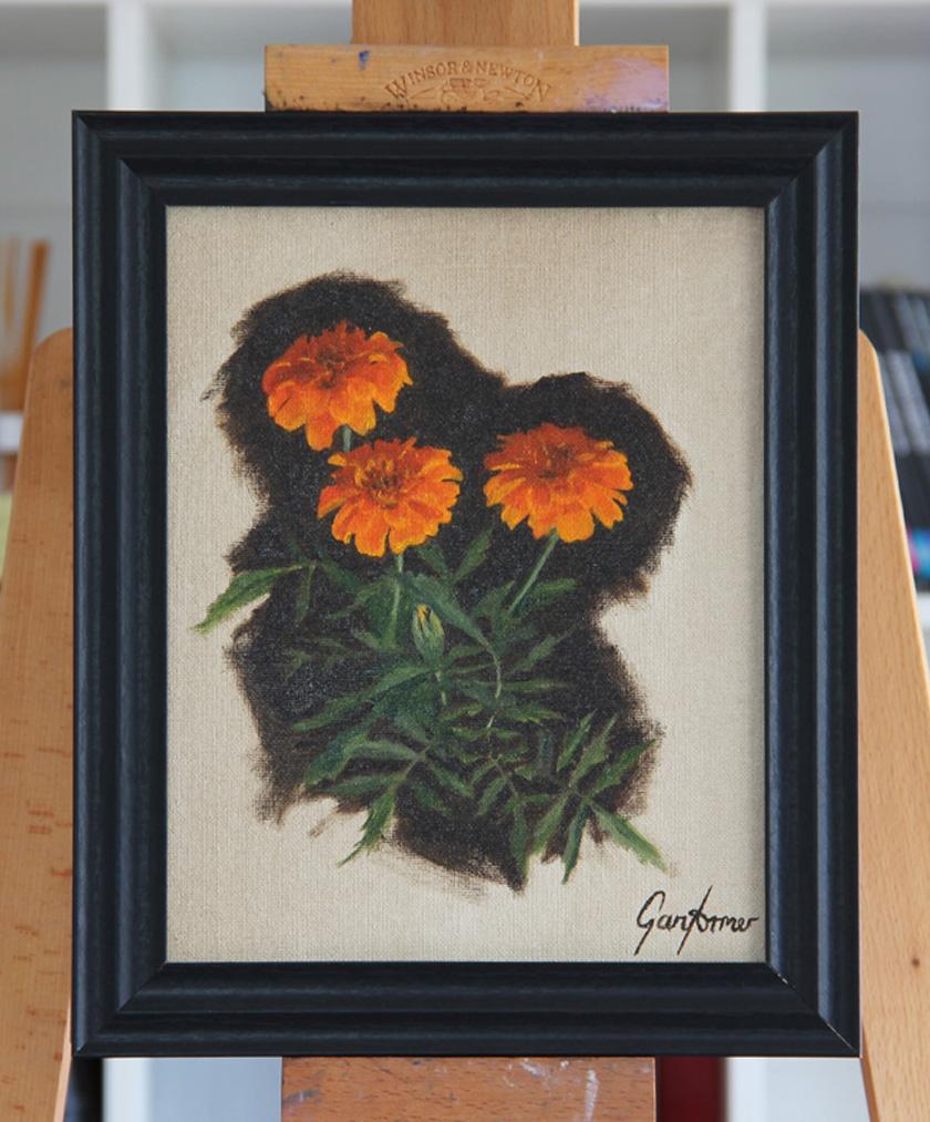 Marigolds Framed Thumbnail
