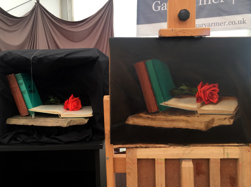 Once Upon a Time Still Life at Southport Flower Show