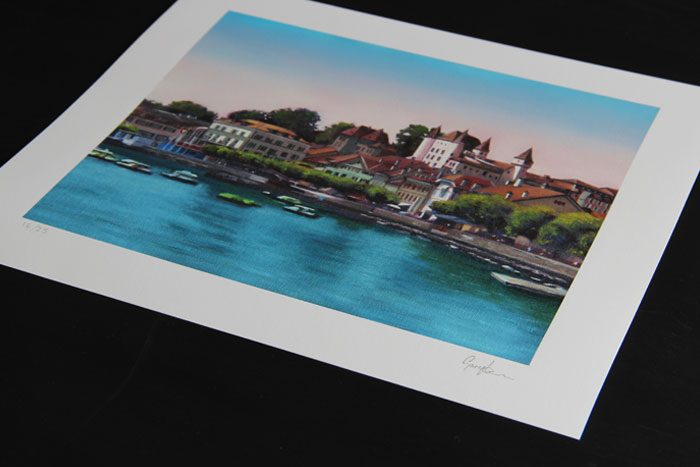 Nyon Oil Painting Print