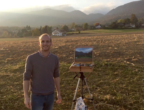 Plein Air Painting in Switzerland