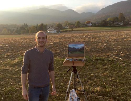 Plein Air Painting in Switzerland