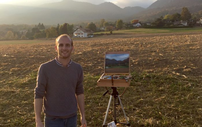 Plein Air Painting Switzerland