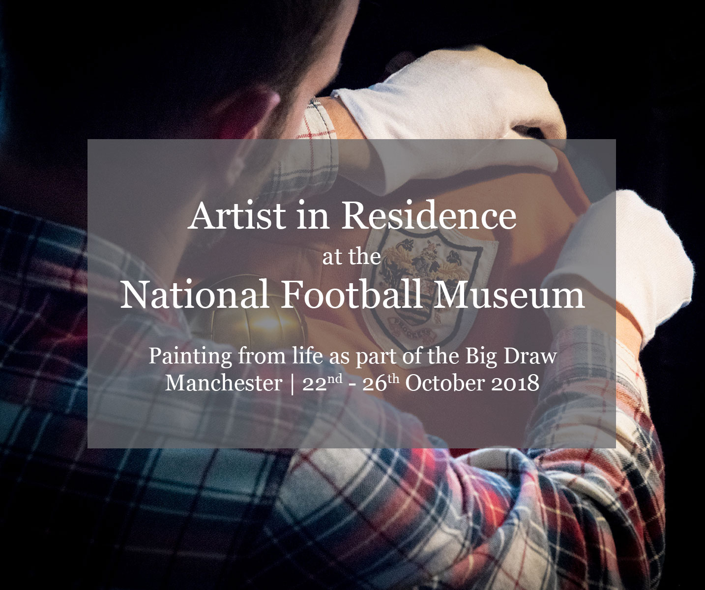Artist in Residence at the National Football Museum