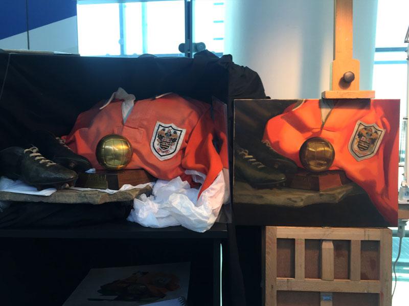 Stanley Matthews Still Life Painting