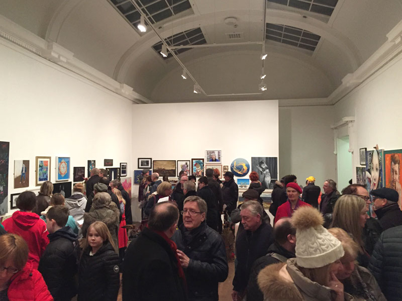 Blackpool Open at the Grundy Art Gallery 2019