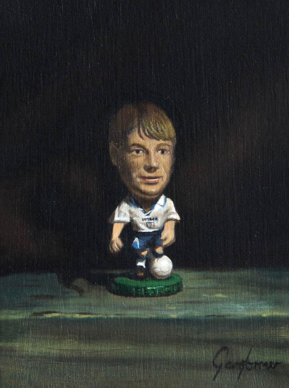 Psycho England Euro 96 Painting