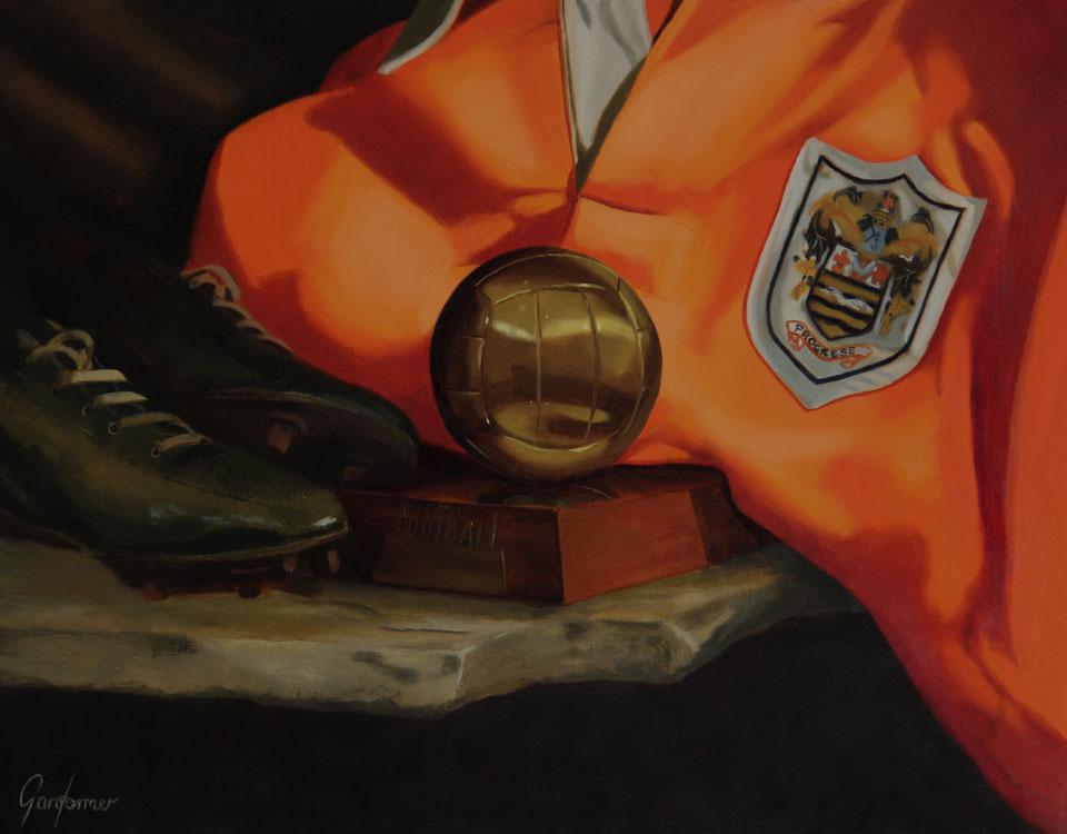 Sir Stanley Matthews Still Life Painting