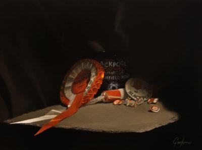 Tangerine Treasure Blackpool Painting