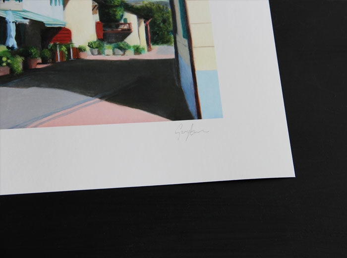 Signed Limited Edition Print of the Auberge at Givrins