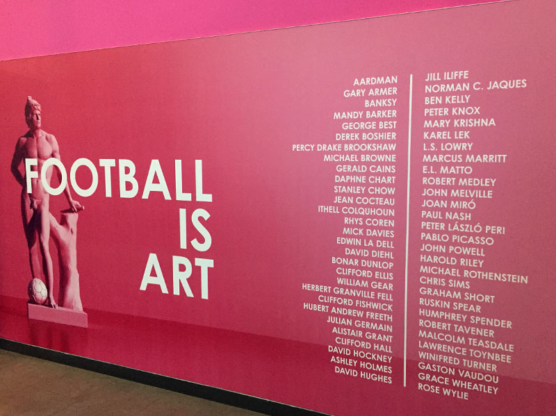 Football Is Art at the National Football Museum
