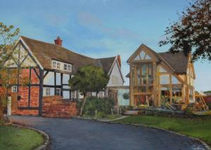 Handley Oak House Painting Commission