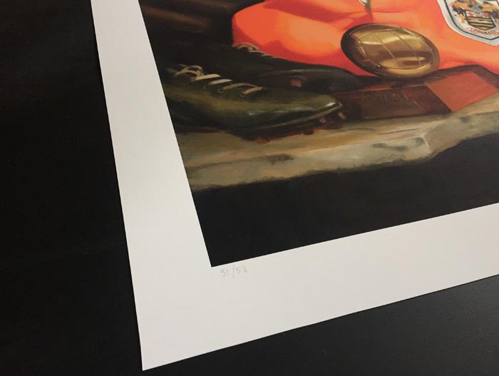 Limited Edition Stanley Matthews Print