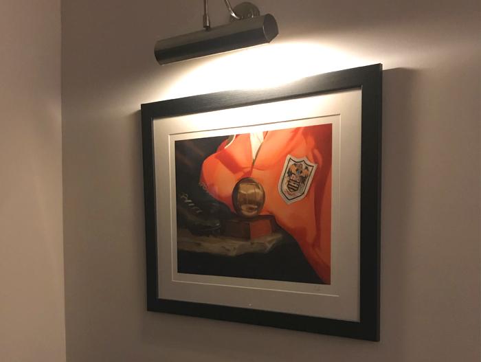 Framed Blackpool FC Stanley Matthews Print