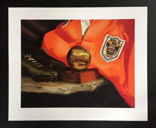 Stanley Matthews Painting Print