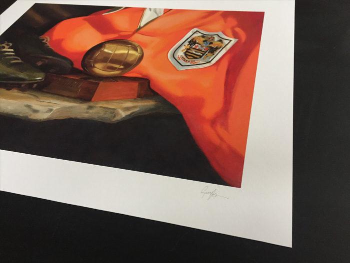 Signed Stanley Matthews Art Print