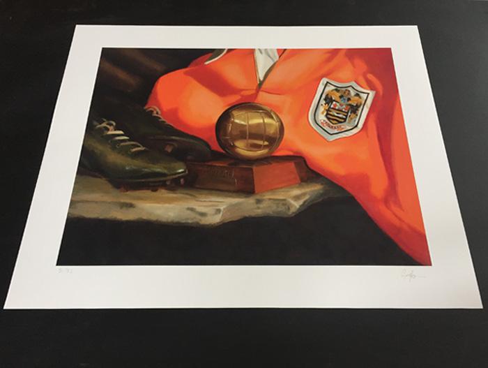 Stanley Matthews Art Print