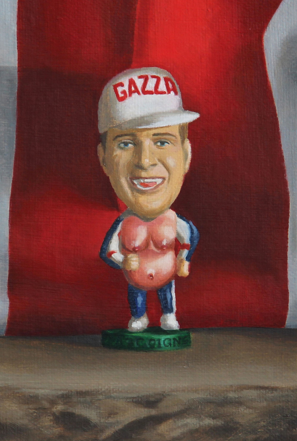 Gazza Italia 90 Painting
