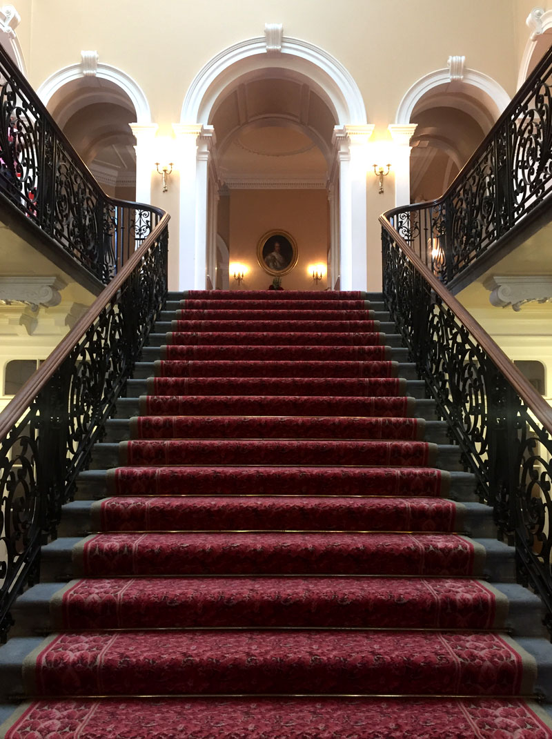Staircase at Croxteth Hall