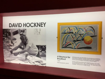 David Hockney A Bounce for Bradford