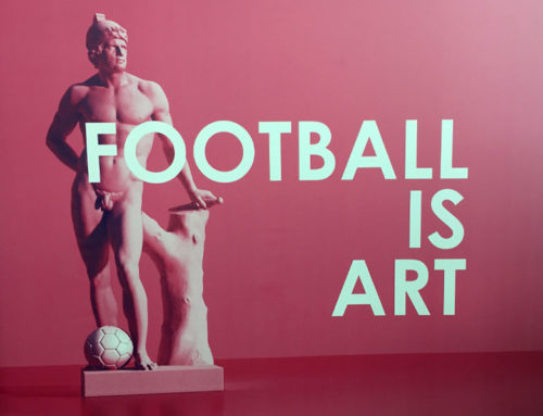 Last Chance to see the Football is Art Exhibition