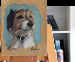 Pet Portrait Pop Up